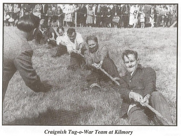 Craignish Tug-o-War Team at Kilmory
